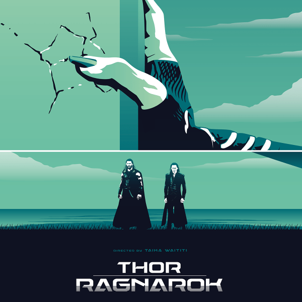 Thor Movie Poster Trilogy Art