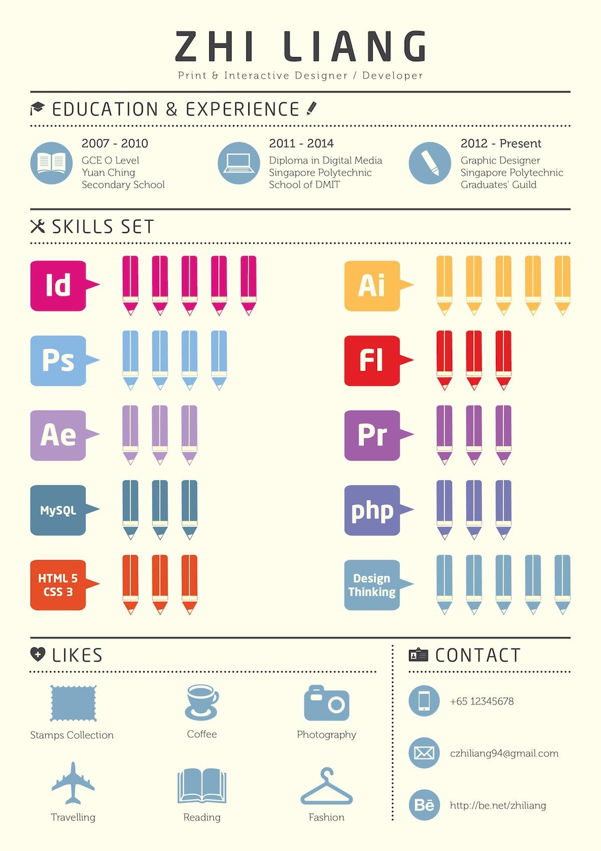 Graphic Resume Design