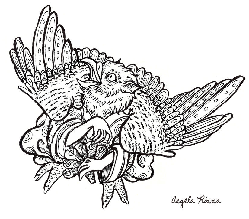 'The Book of Beasts' Coloring Book on Behance