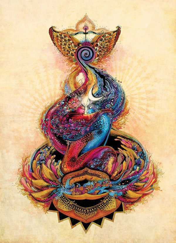 In Of Life Divine Shiva & Shakti Love