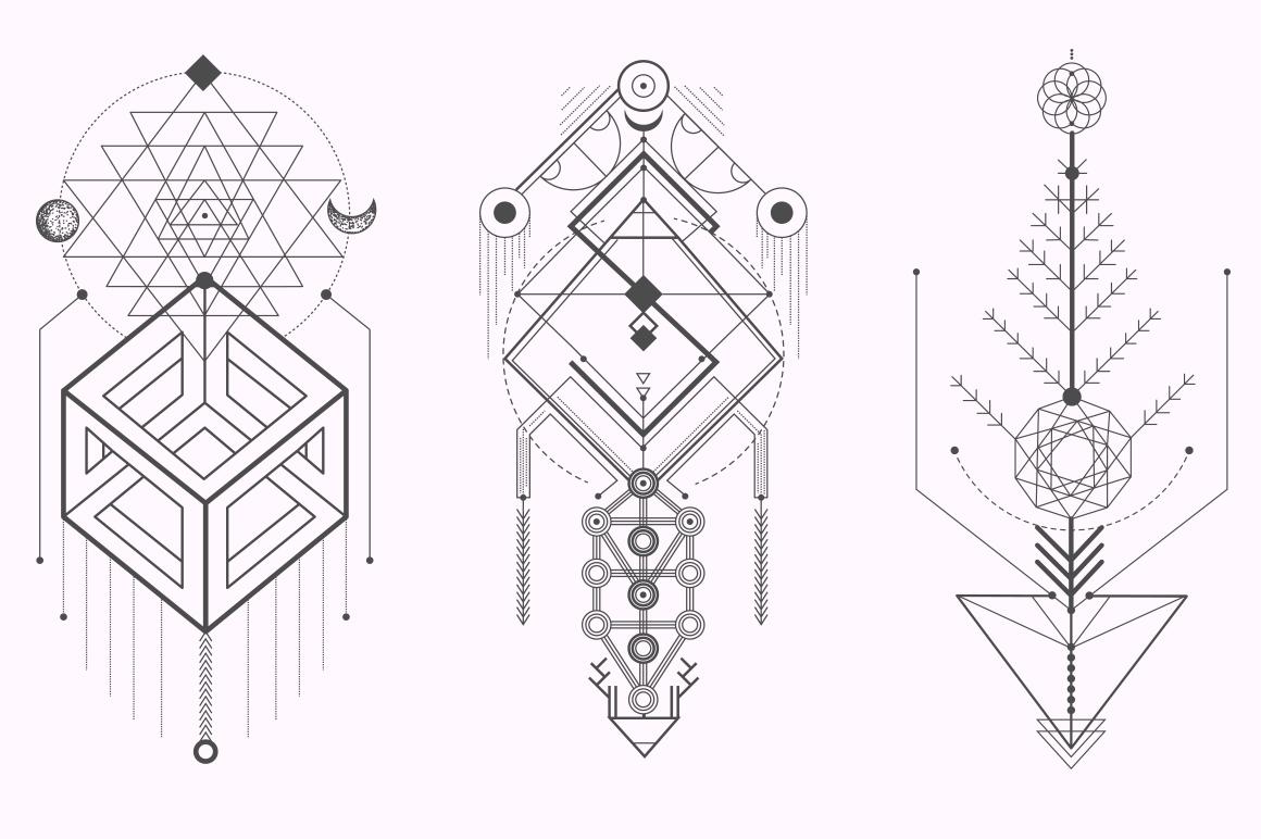 Sacred Geometry. Magic totem vol.2 on Behance