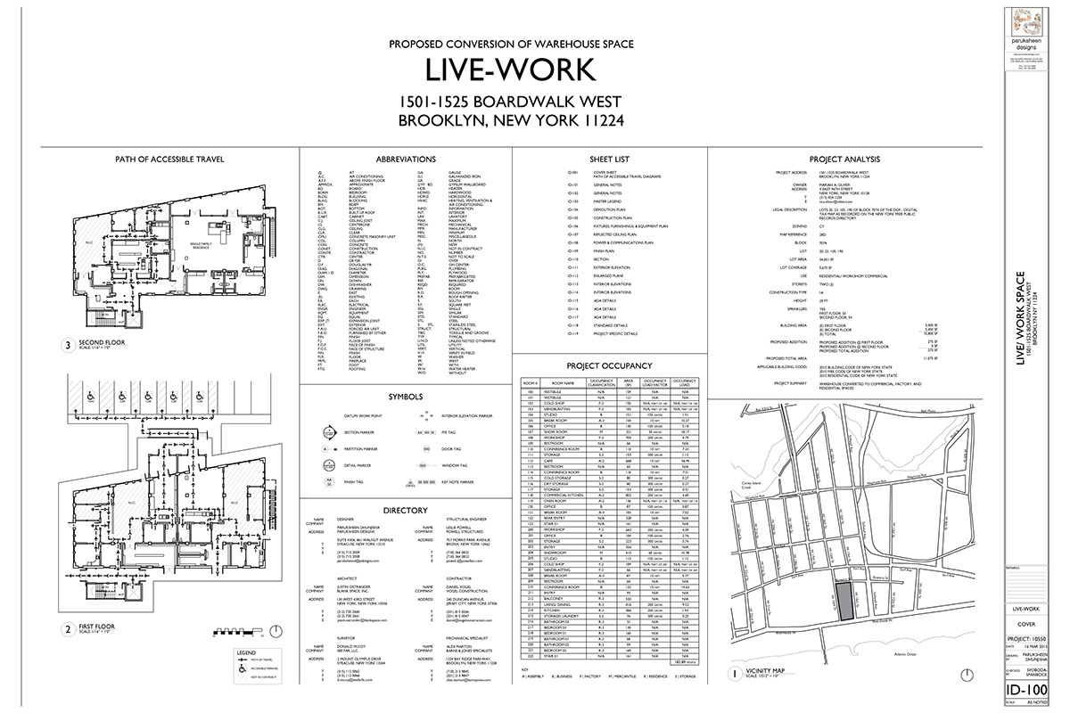 Live-Work Construction Documents on Behance