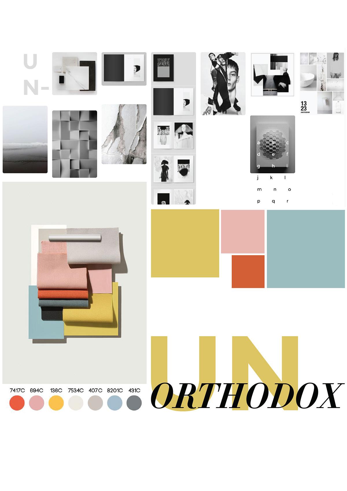 UNORTHODOX- IDENTITY DESIGN on Behance