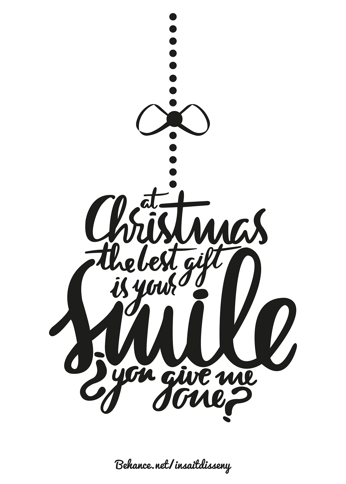The best gift is your smile on Behance