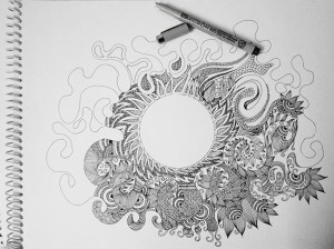doodle drawings drawing doodles simple shapes meaning mania behance occupied otherwise attention person while