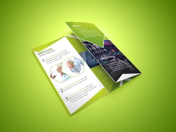 Free Tri-fold Corporate Brochure Behance