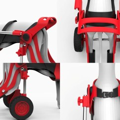 Wheel Chairs For Dogs Grey Upholstered Dining Room Dog Wheelchair On Behance