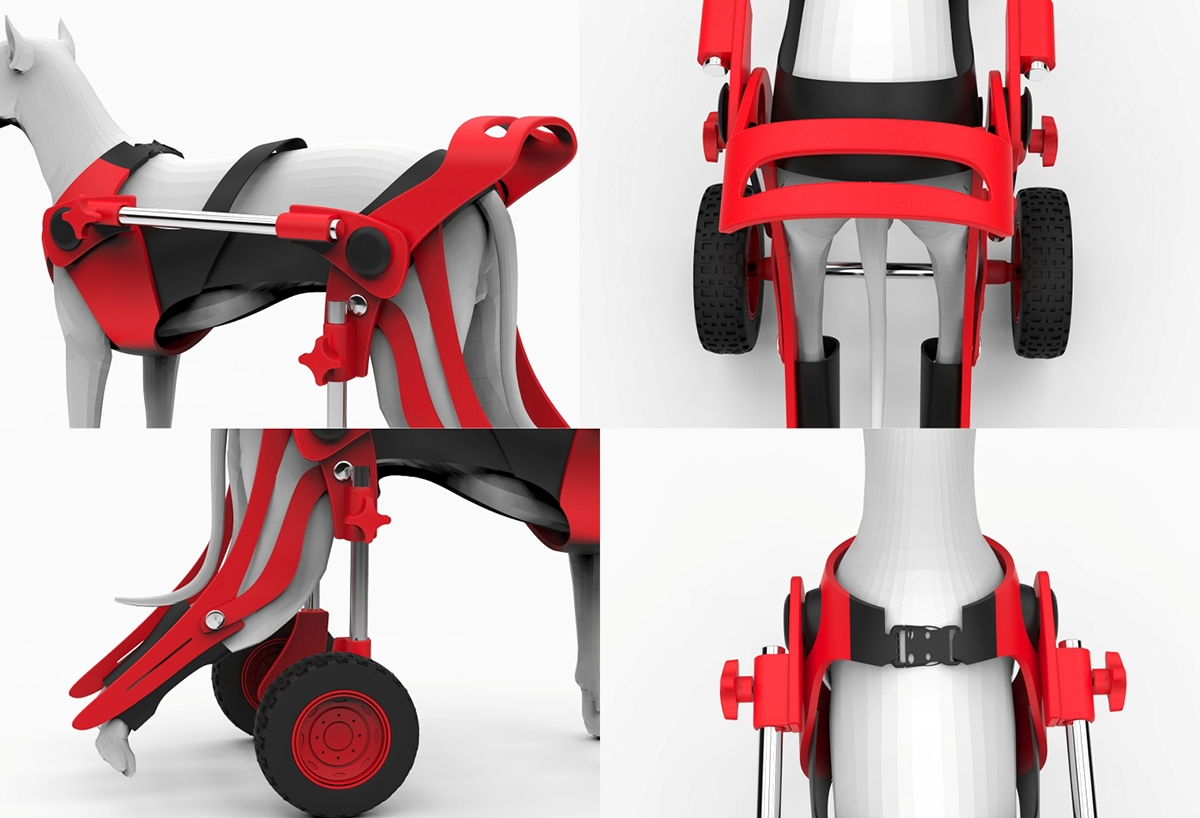 wheelchair dog ashley dining table and chairs on behance