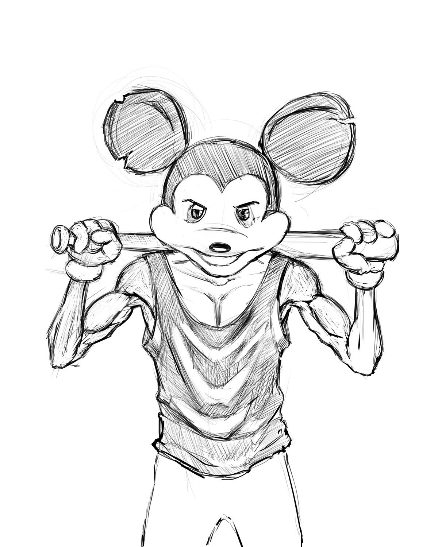 BadAss Mickey Mouse on Behance