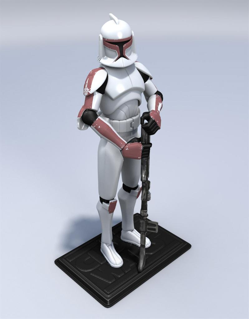 Clone Trooper Action Figures On Behance
