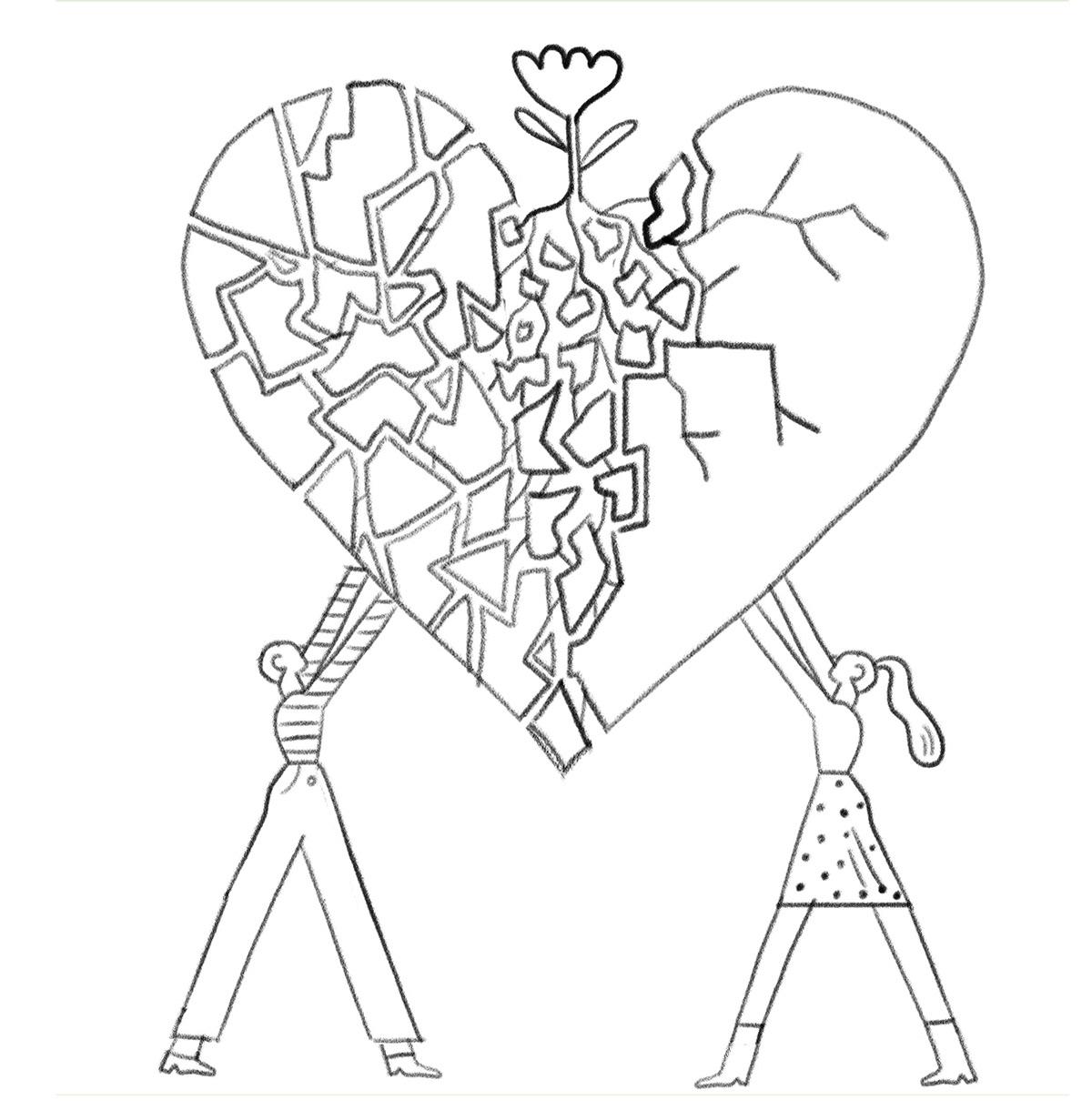 ELLE FRANCE - Infidelity on Behance