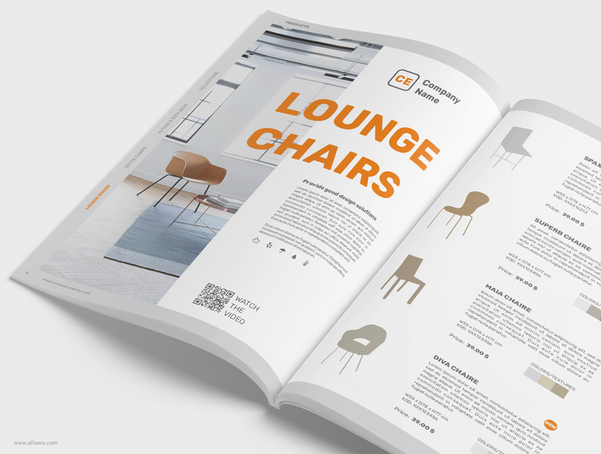 Discover 96 product catalogue designs on dribbble. Product Catalog Brochure Template Coreldraw On Behance