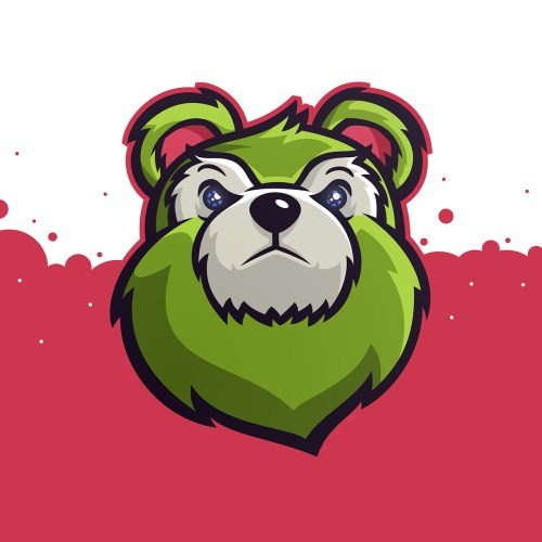 small resolution of bear mascot clipart