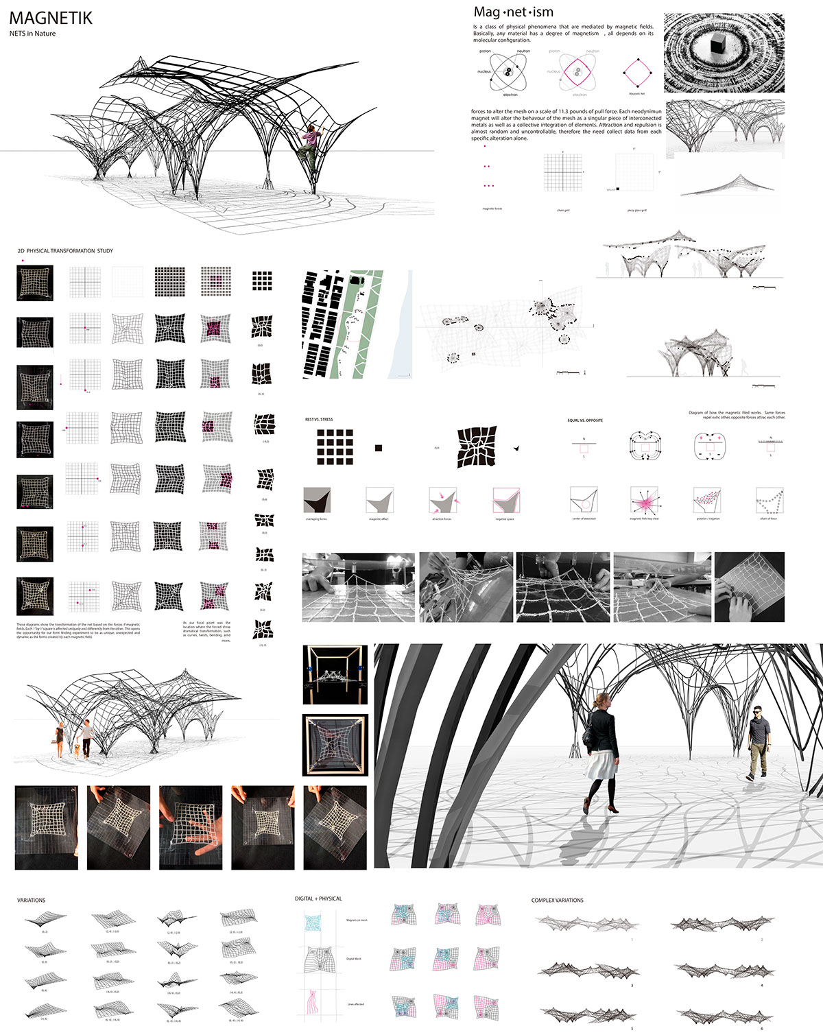 Form Finding Project on Behance