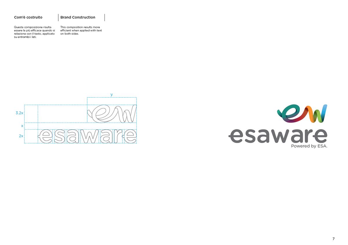Esaware_Brand Identity Manual on Behance