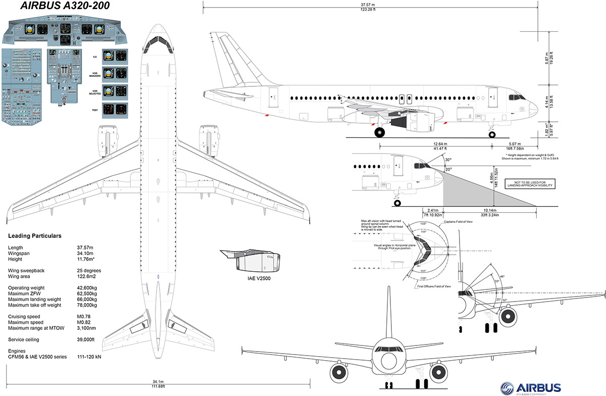 Airbus A320-200 Details on Behance