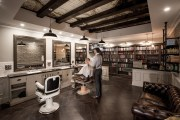 barbershop design behance