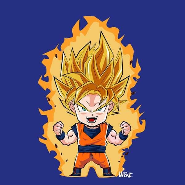 Dragon Ball Z Goku Chibi