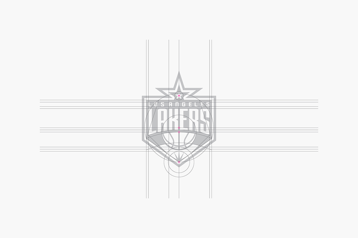 Los Angeles Lakers Identity On Behance