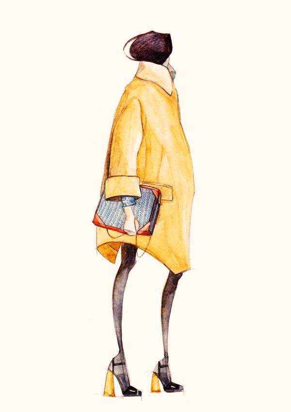 Fashion Illustration Pre-fall 2013 Behance