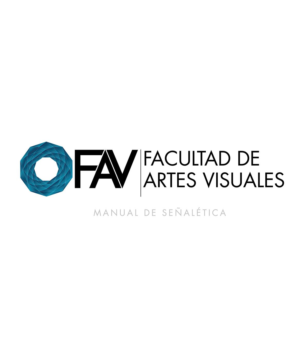 Manual Facultad de Artes Visuales on Behance