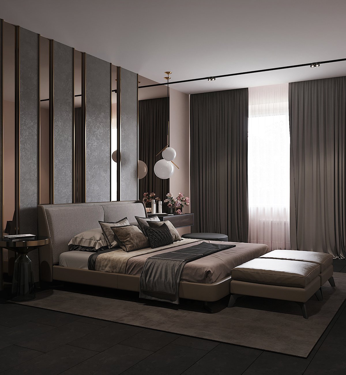 Bedroom In Contemporary Style On Behance