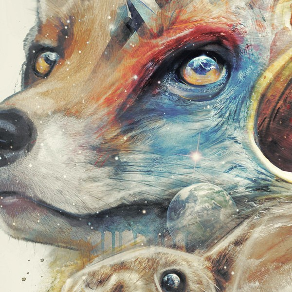 Classy Geek Painting Art Of Star Fox Behance