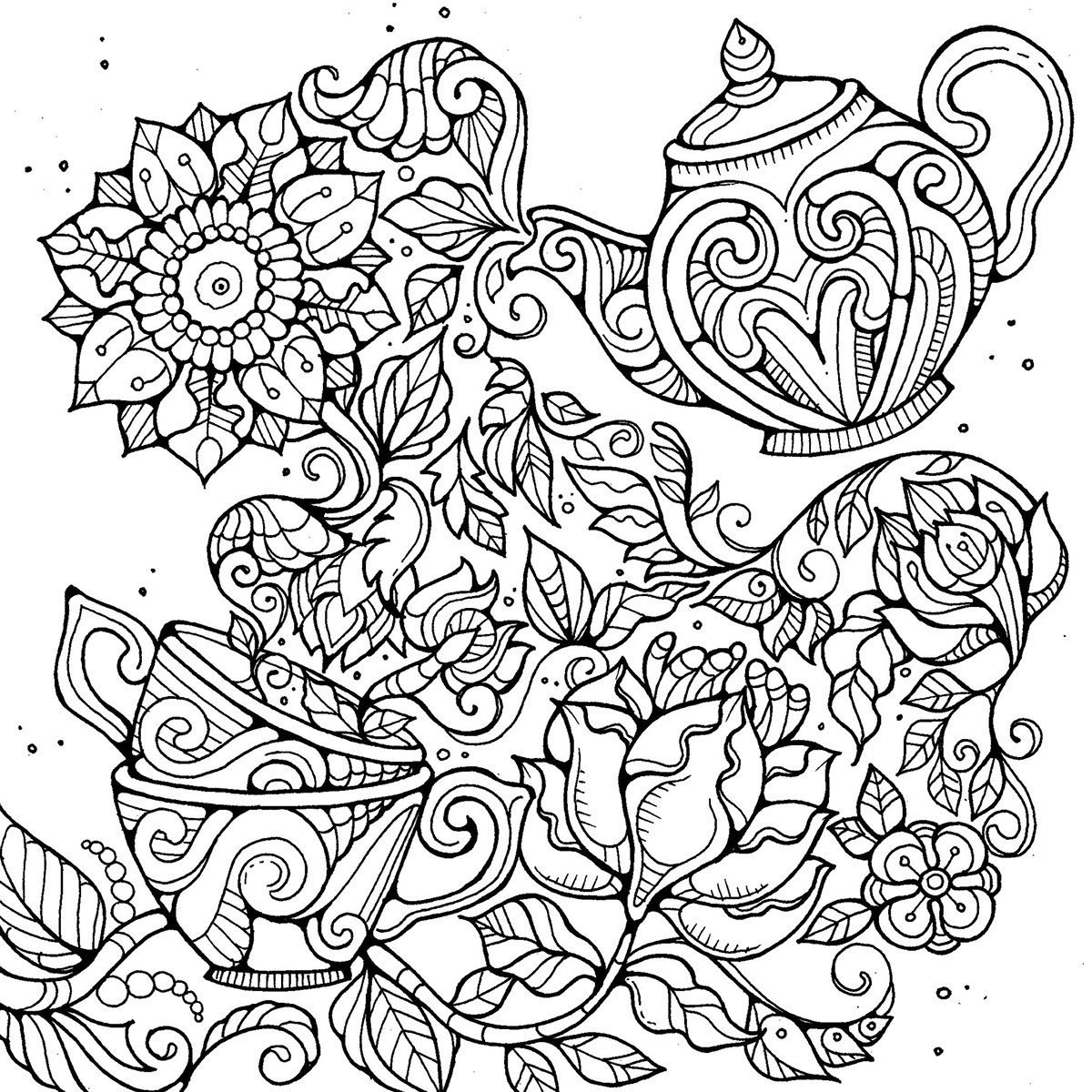 Colouring Pages on Behance