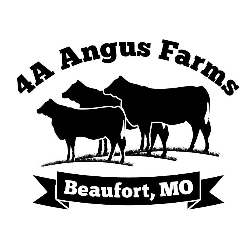 4A Angus Farms Logo on Behance