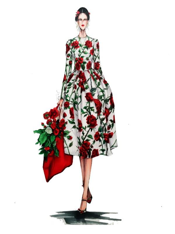 Fashion Illustrations Eris Tran Behance