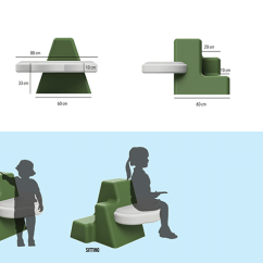 Yilan Chair Design Competition 2018 Ergonomic Posture Seat Of Clouds On Behance Is A Children S That Encourages Play And Exploration