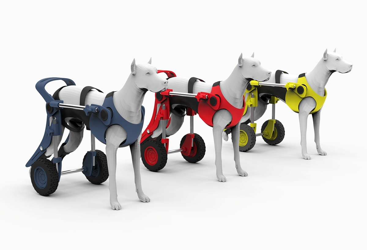 wheel chairs for dogs airport massage chair dog wheelchair on behance