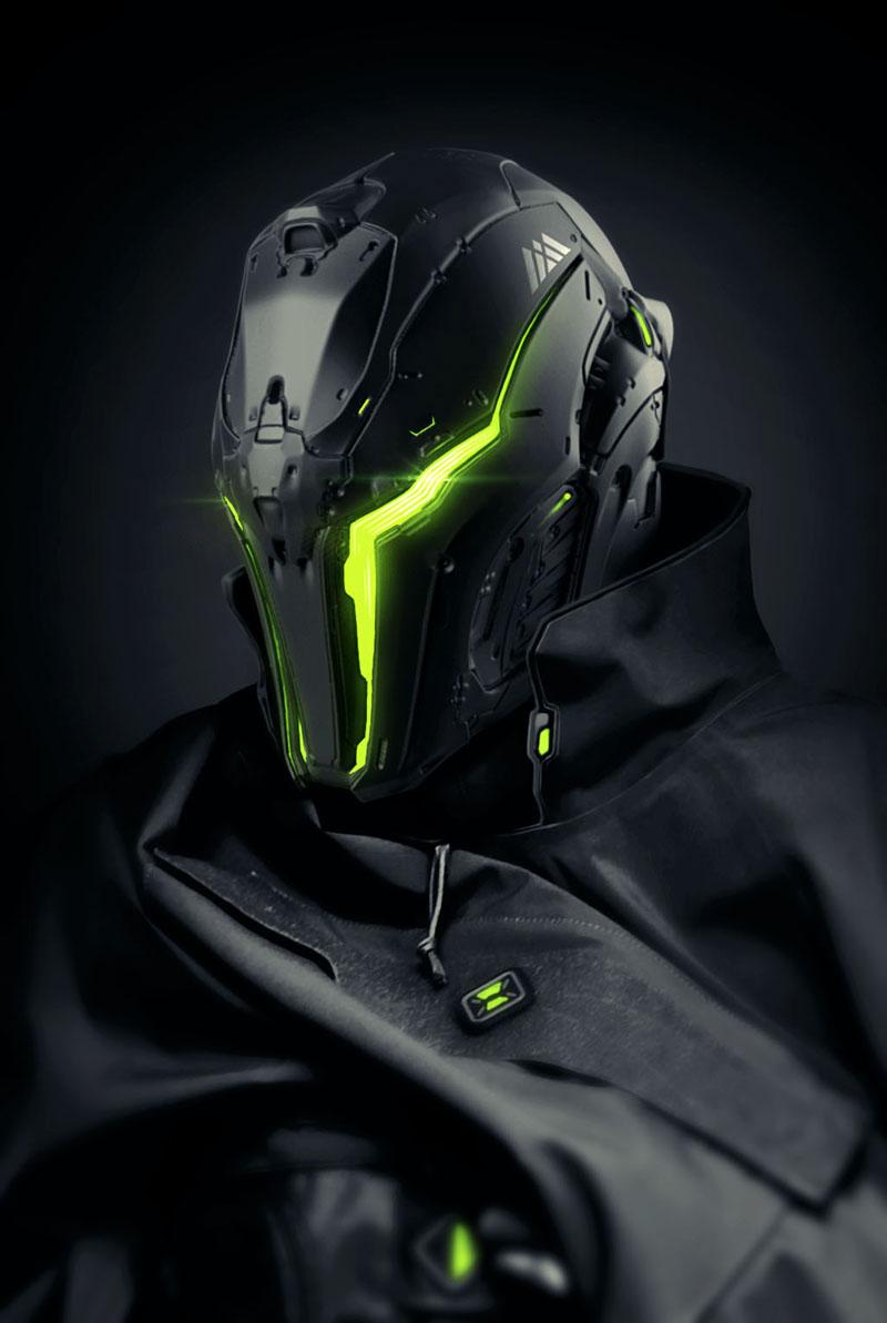 WARLOCK helmet concept on Behance