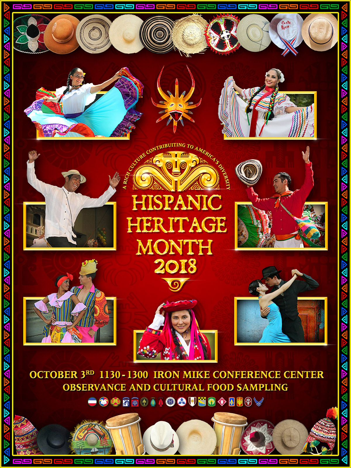 Compilation Of Hispanic Heritage Month Posters 18 On