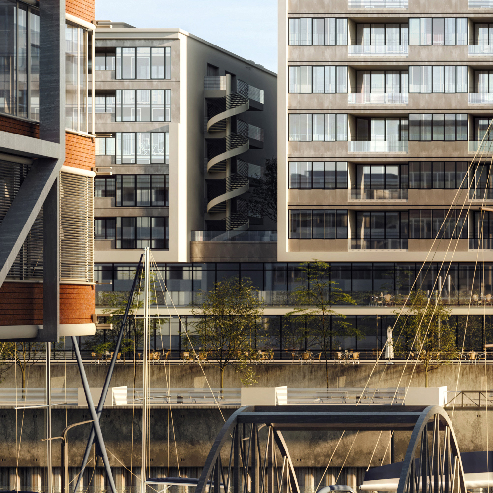 Cgi Hamburg Hamburg Hafencity [full Cgi] On Behance
