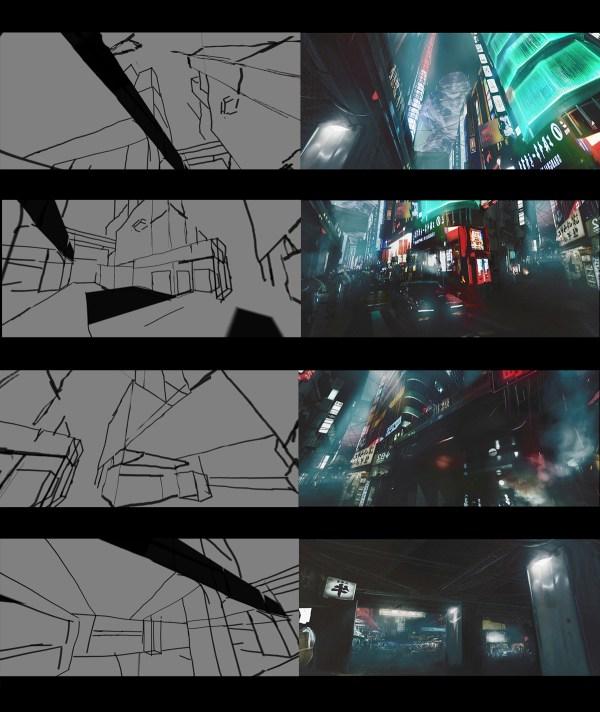 Cyberpunk Sketch Profile