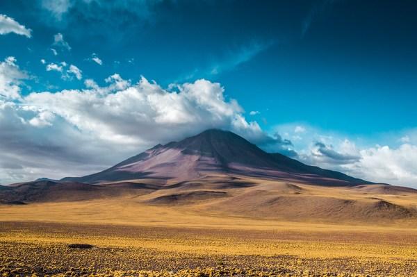 north chile landscape behance