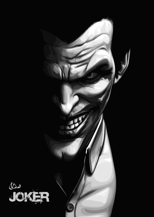 El-joker Vector Art Behance
