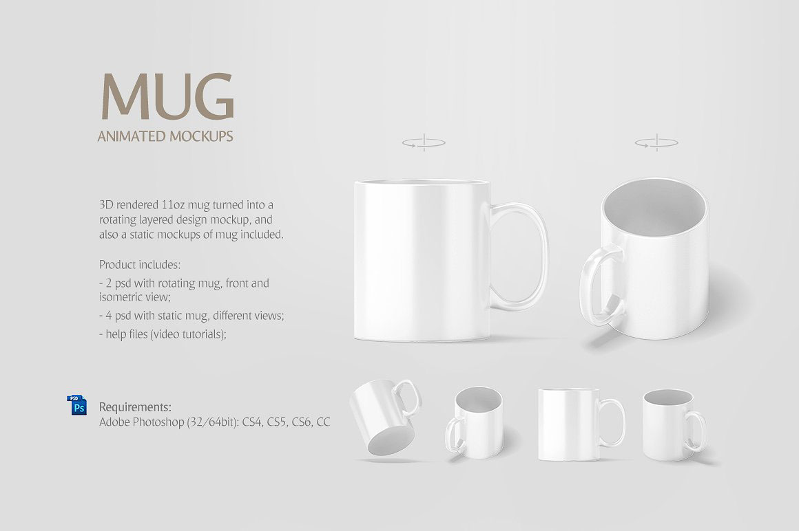 Mug Animated Mockup on Behance