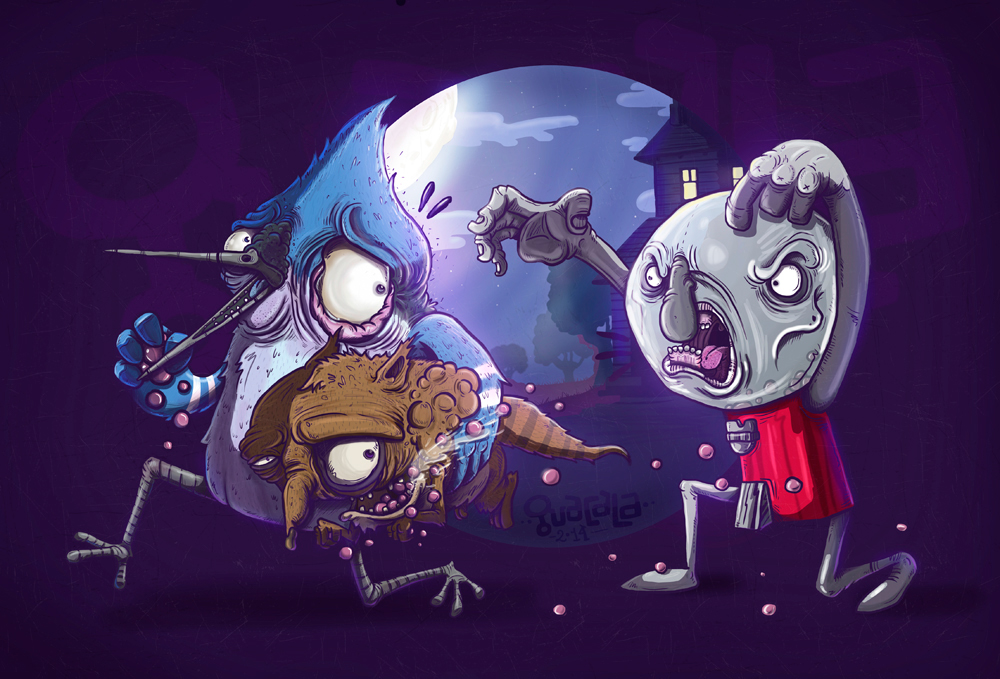 REGULAR SHOW BY GUACALA on Behance
