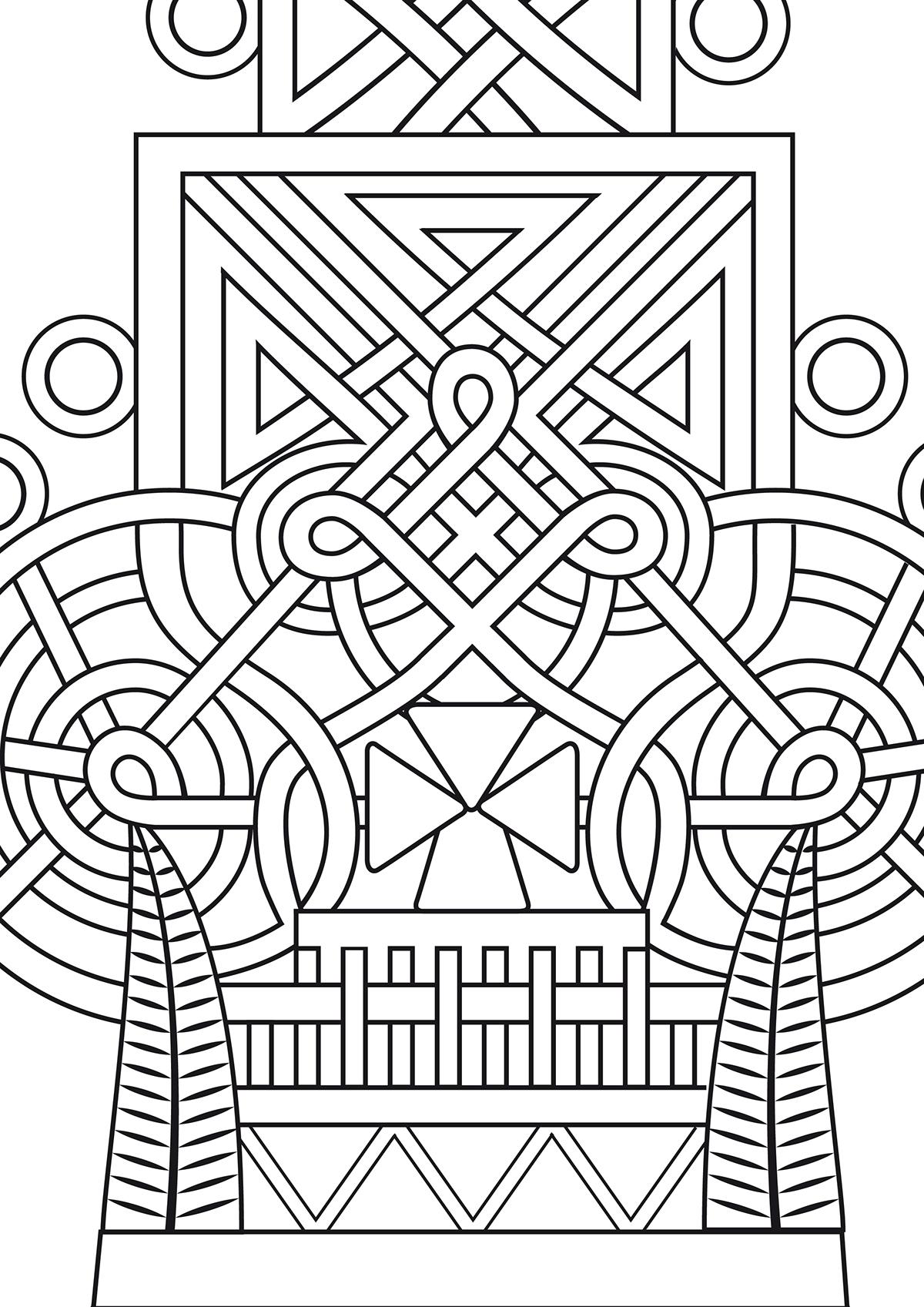 Ethiopian Orthodox Cross on Behance
