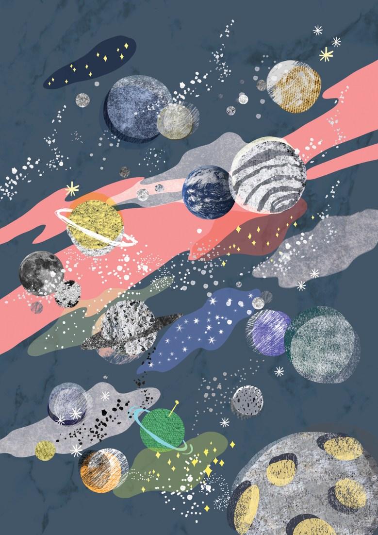 Illustration planètes