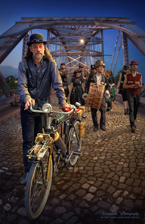 Steampunk Bicycle Behance