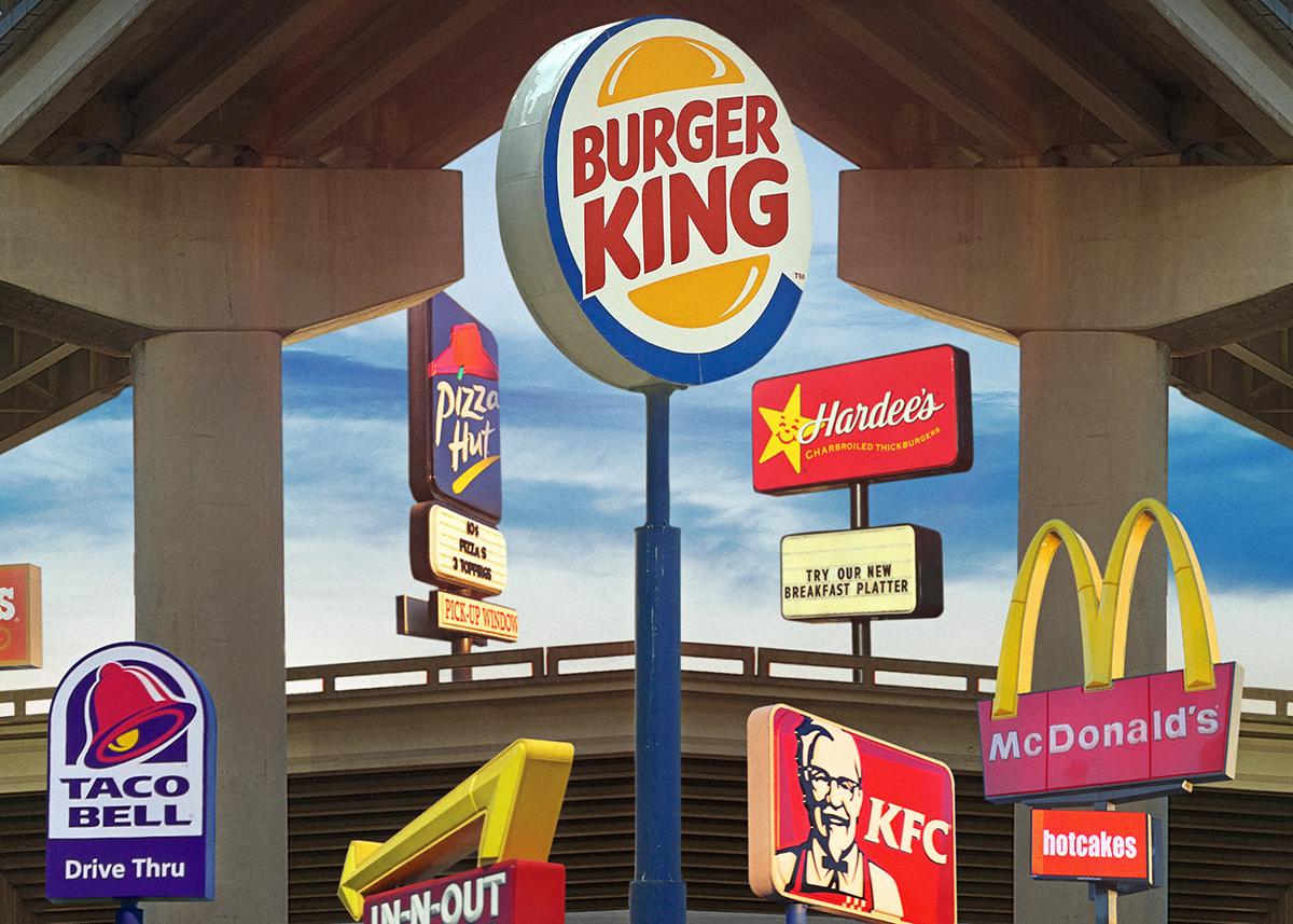 Fast Food Nation On Behance