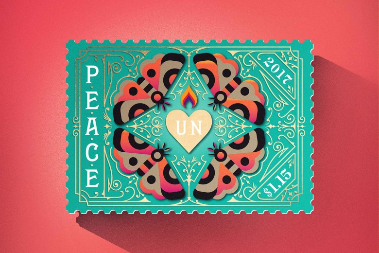 United Nations International Peace Stamps 03