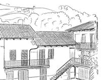 Grafica per i menù della Taverna dell'Oca on Behance