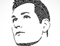 Typographic Portrait Designs on Behance