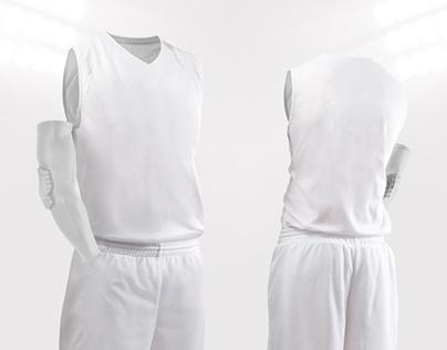 Download basketball jersey mock up psd