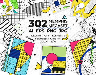 272 patterns posters elements