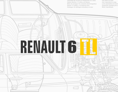 Renault 6 TL on Behance